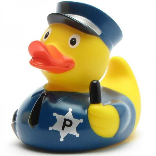 Police Rubber Duckie