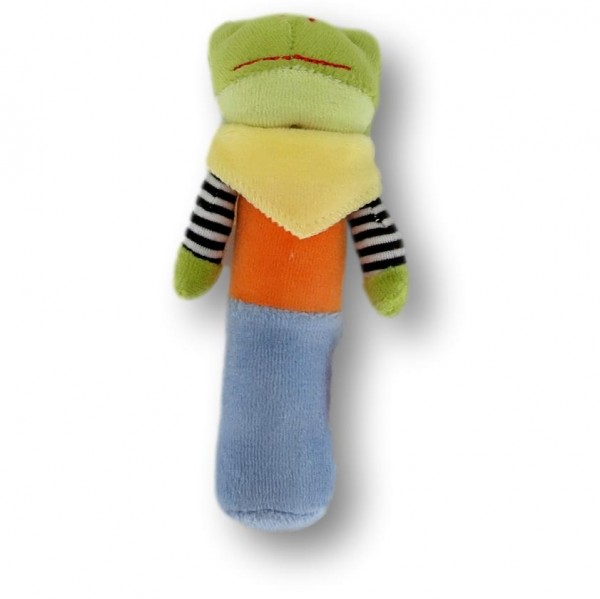 Gripper frog with squeaking function