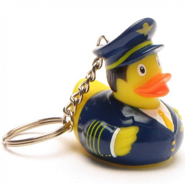 Pilot Canard de Bain Porte-clés