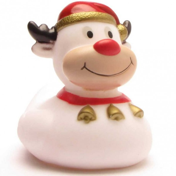 Rubber Duck Reindeer white