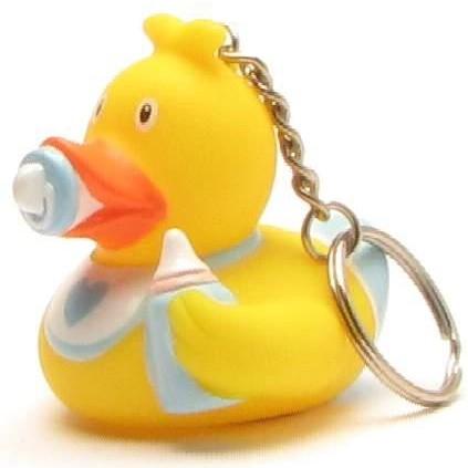Keychain Baby Rubber Duck Boy