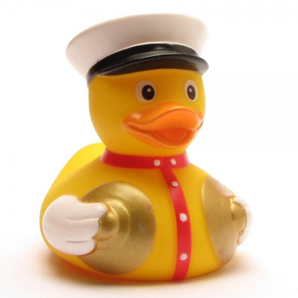 Rubber Duckie brass band cymbals