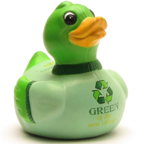 Mr. Green - Rubber Duck - Celebriducks