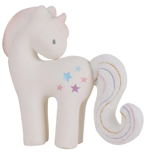 "Unicorn ""Cotton Candy"" - Baby Rattle"
