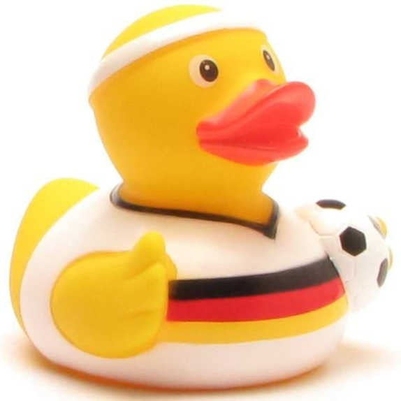 Football Rubber Ducky Germany Jersey