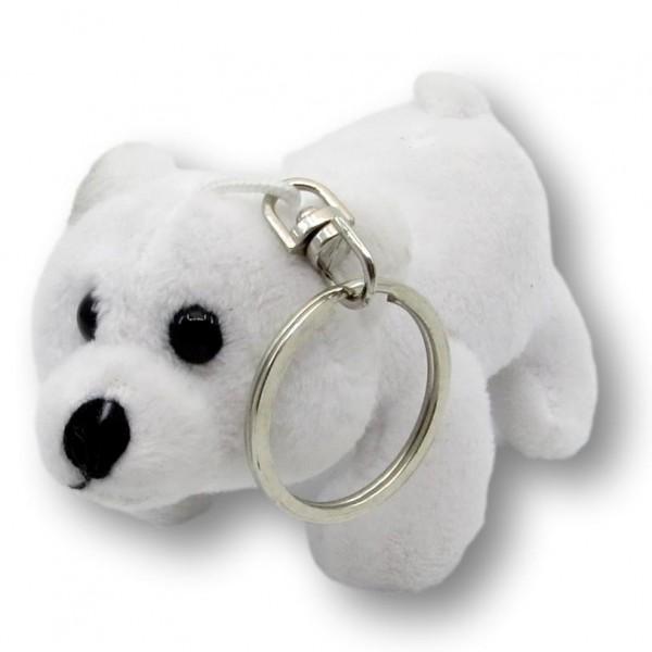 Schlüsselanhänger Eisbär Freddy