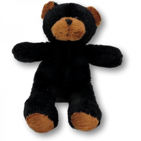 Knuffelbeer Finn zwart