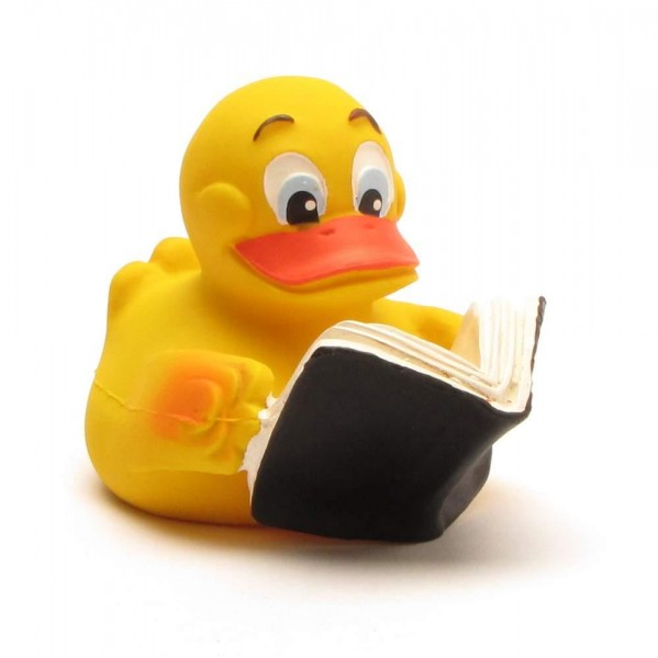 Quietscheente Book Duck