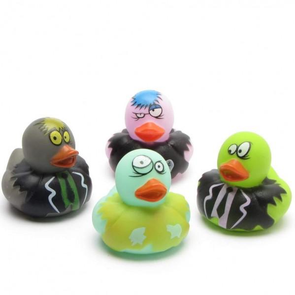 Zombie Halloween Rubber Ducks - Set of 4