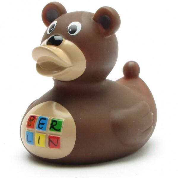 Rubber Duck Berliner Bär