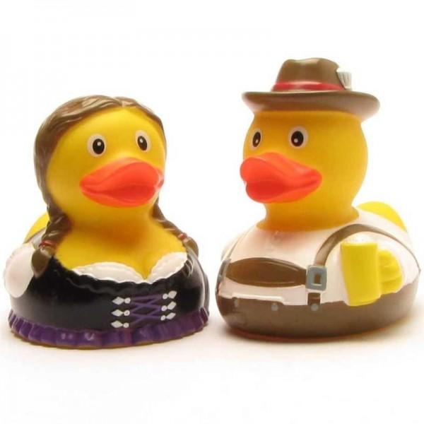 Bavarian Rubber Ducky pair