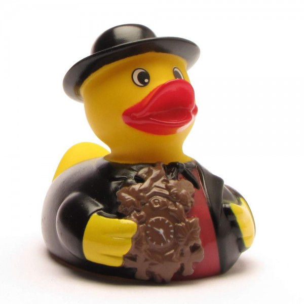 Black Forest Rubber Ducky Man