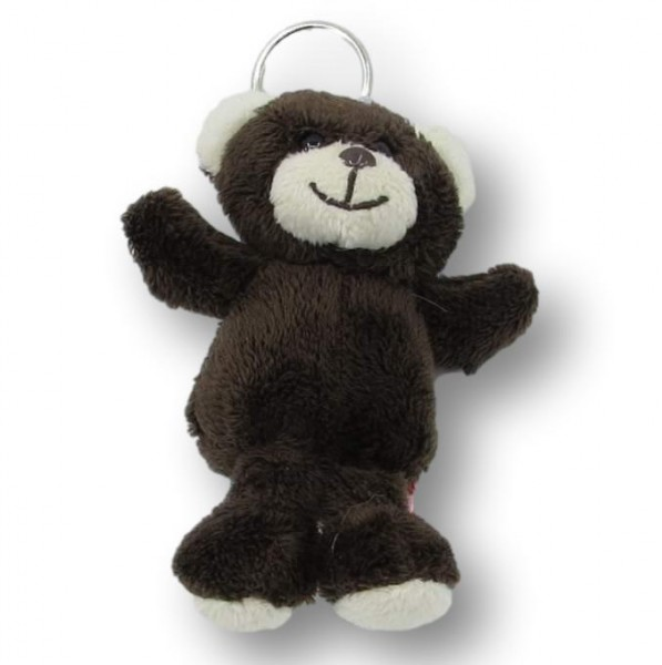 Plush keychain bear