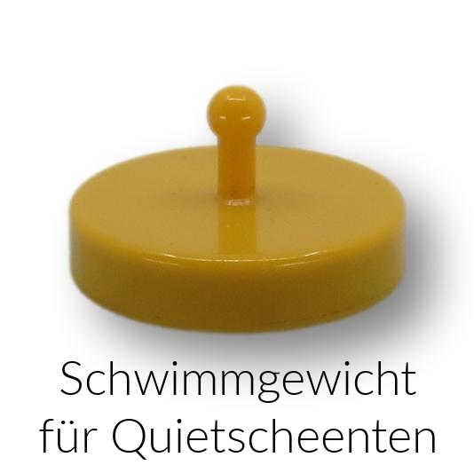 Schwimmgewicht für Quietscheenten