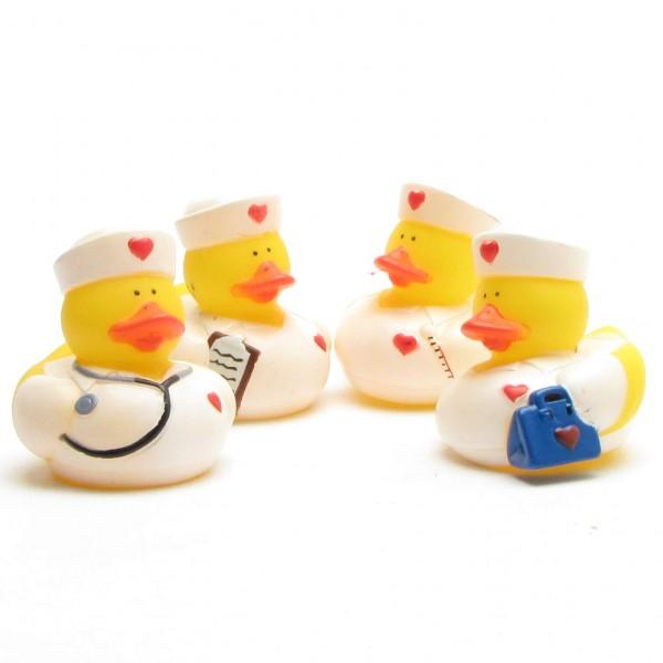 Nurses Bath Ducks - Set of 4