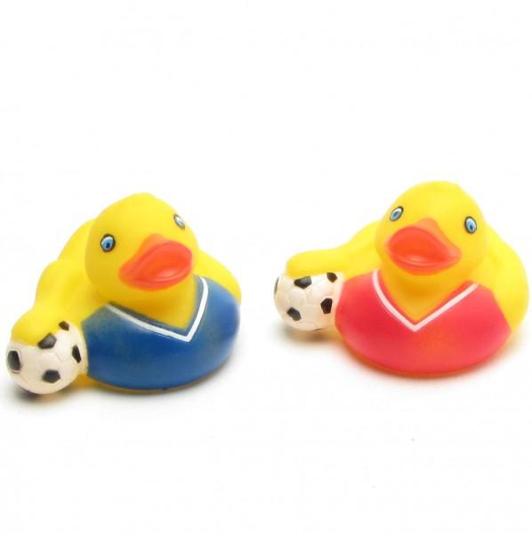 Badeente Fußball 2er Set
