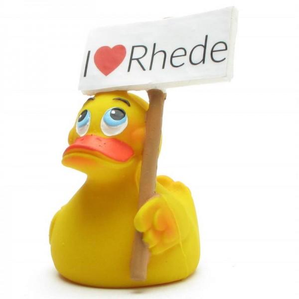 "Quietscheente ""I love Rhede"""