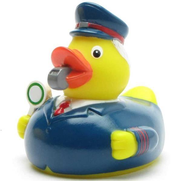 Conducteur de canard en caoutchouc