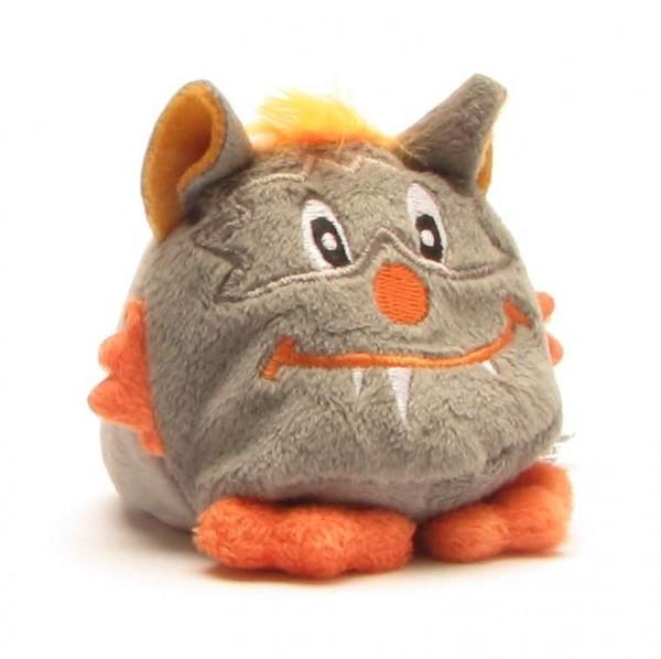 Schmoozies Monstre gris foncé/orange