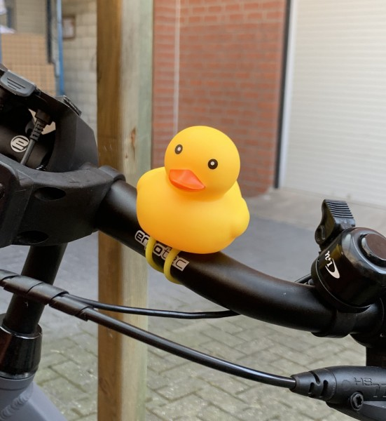 Rubber Duck for bicycles - LED-Lights