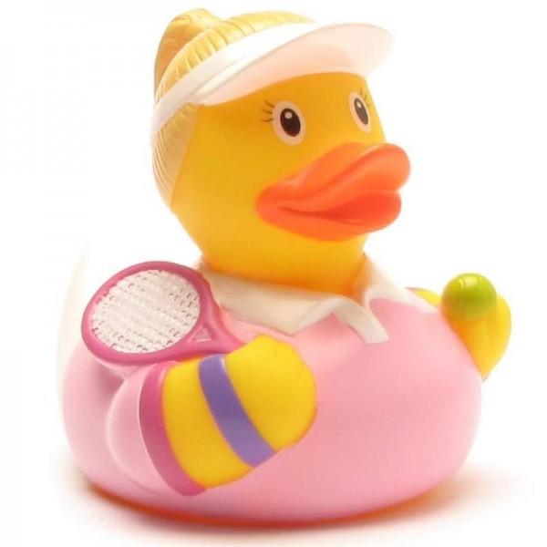 Rubber Ducky tennis player