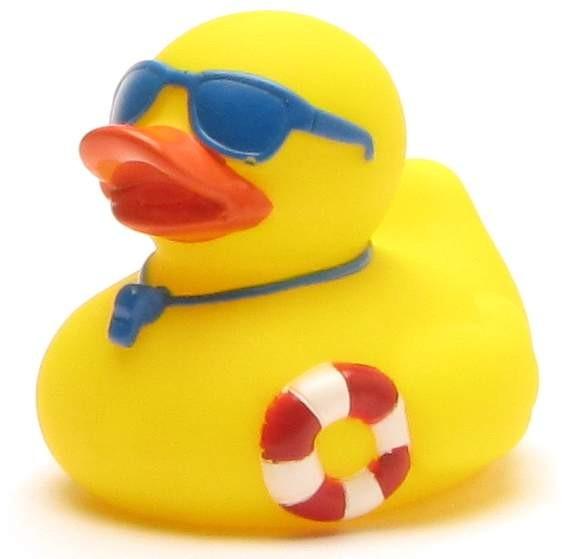 Rubber Duckie Lifeguard