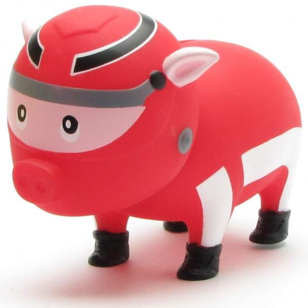 Biggys - Sparschwein Rennfahrer