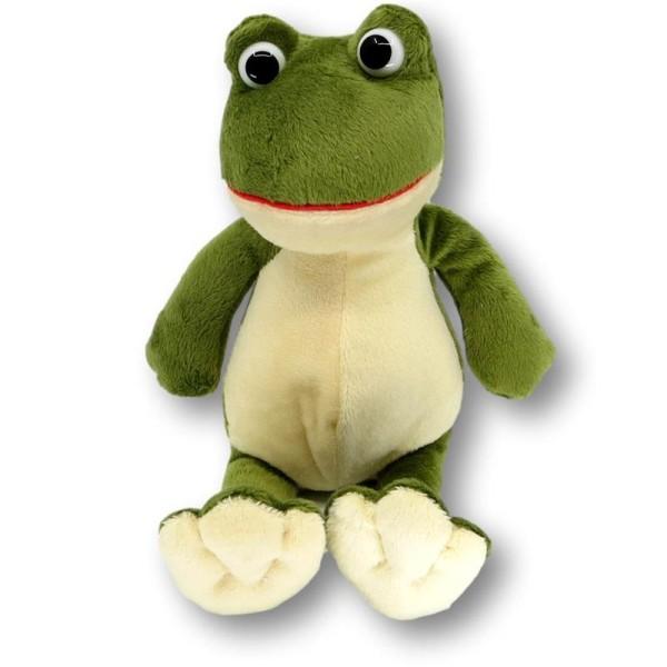 Soft toy frog Rafael