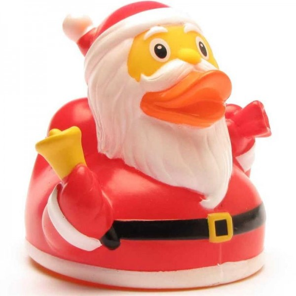 Quietscheente Weihnachtsmann