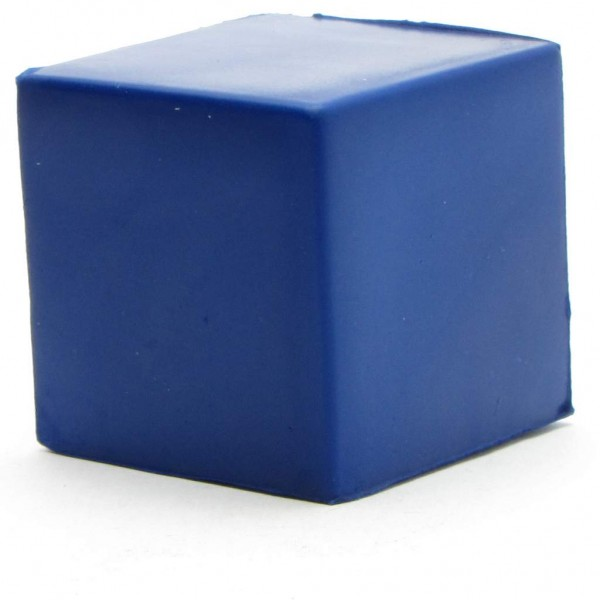 Knautschfigur - Würfel - blau