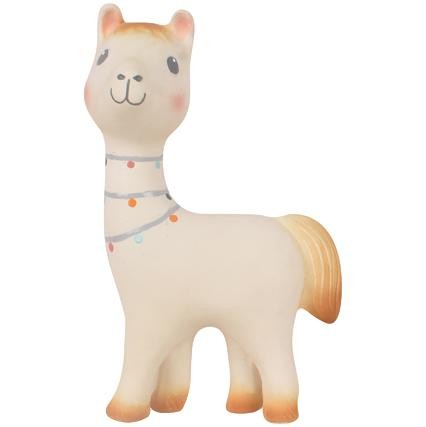 Lilith the llama - baby rattle