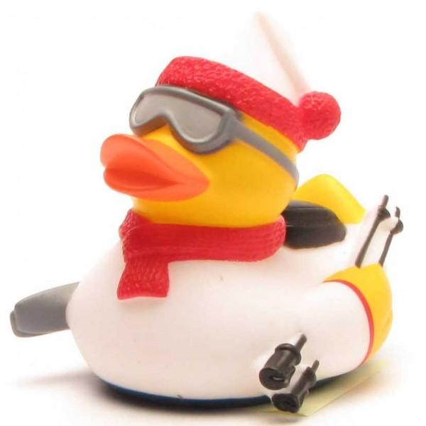 Rubber Duck skier - white