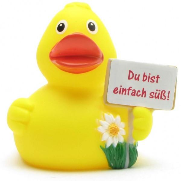 """Rubber Duck """"Du bist einfach süss"""""""